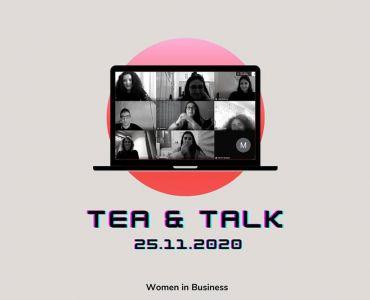 Pınar Başman Süren Tea&Talk sohbetlerinde ODTÜ öğrencileri ile buluştu